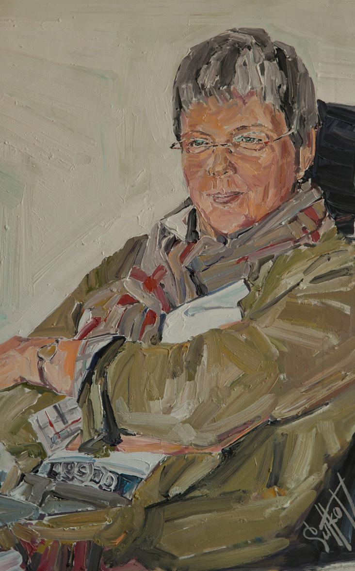 Ein Portrait von Rechtsanwältin für Versicherungsrecht Dr. Uta Freudenberg.